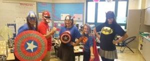 First grade superheros